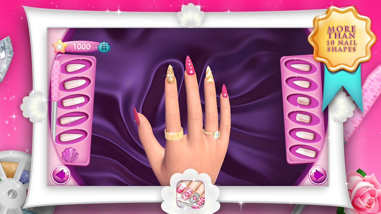 Fashion Nails 3D Girls Game The App Store android Code Lads