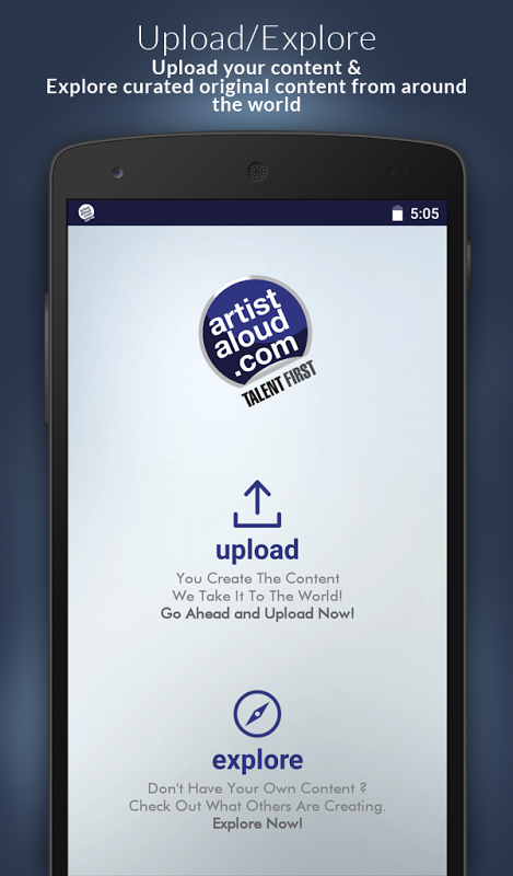 Artist Aloud – Talent First The App Store