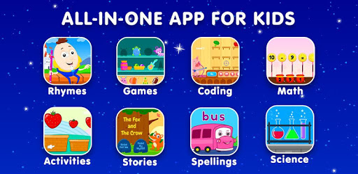 KidloLand- Nursery Rhymes, Kids Games, ABC Phonics