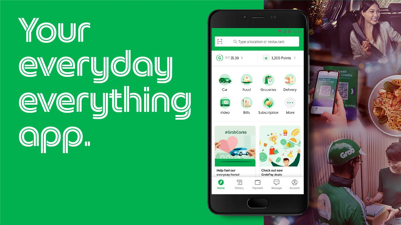 Grab - Transport, Food Delivery, Payments The App Store