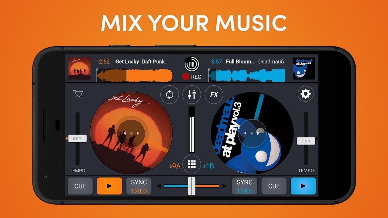 Cross DJ Free - dj mixer app The App Store android Code Lads