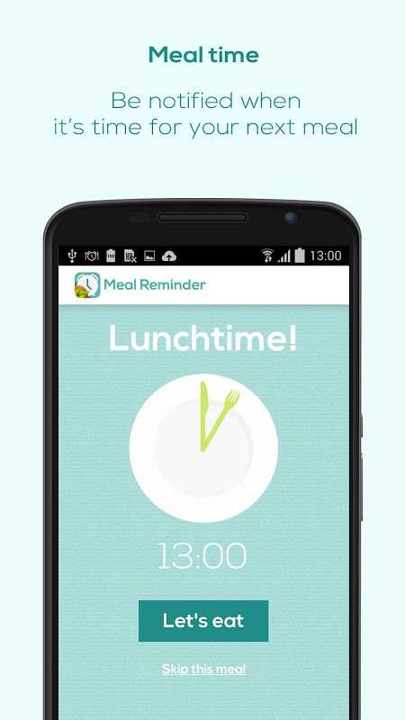 Meal Reminder - Weight Loss The App Store android Code Lads