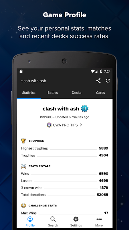 Stats Royale for Clash Royale The App Store