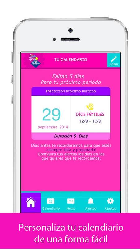 Mi Calendario by Nosotras The App Store android Code Lads