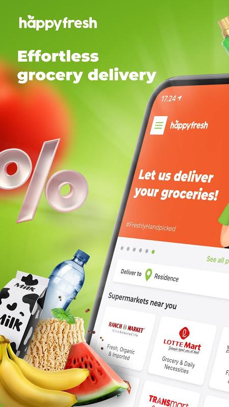 HappyFresh – Groceries, Shop Online at Supermarket The App Store