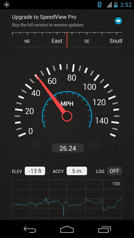 SpeedView: GPS Speedometer The App Store android Code Lads