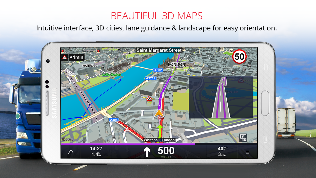 Sygic Truck GPS Navigation The App Store android Code Lads