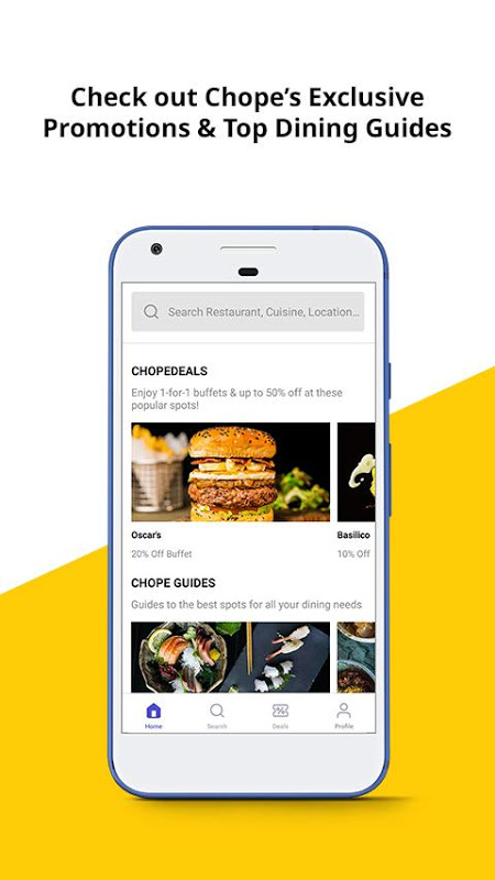 Chope Restaurant Reservations The App Store