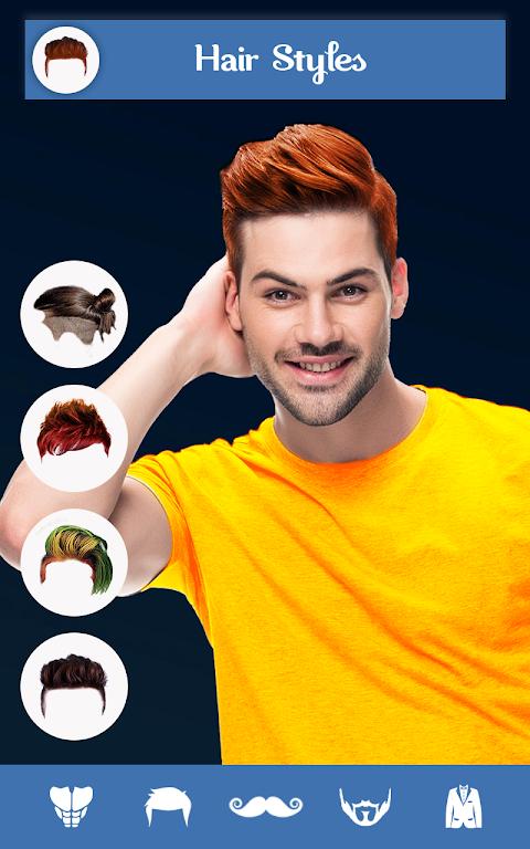 Hairy - Men Hairstyles Beard & Boys Photo Editor The App Store