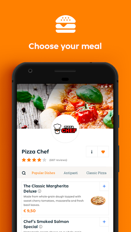 Lieferando.at - Order food The App Store android Code Lads