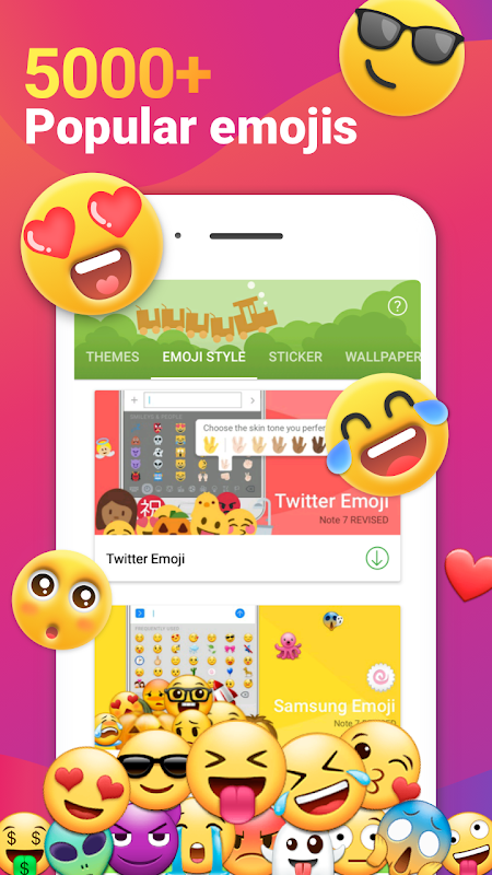 iMore Emoji Keyboard - Cool font, Gif & 3D themes The App Store