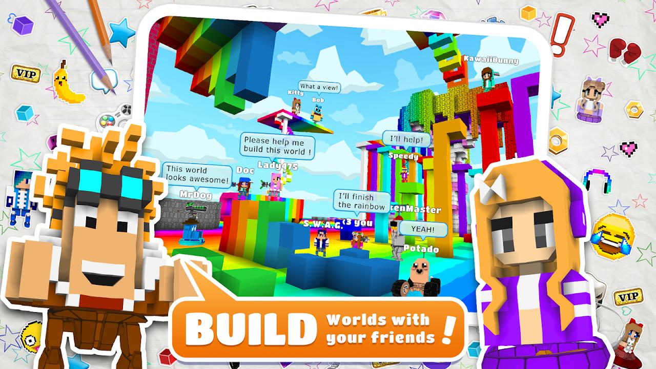 Screenshot BlockStarPlanet APK