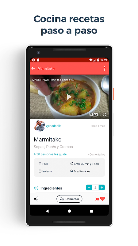 Hatcook recetas de cocina The App Store android Code Lads