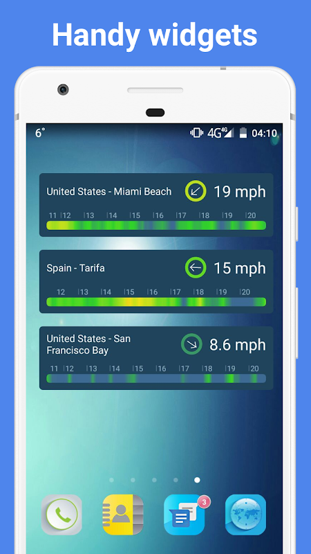 Screenshot WINDY APP: wind forecast & marine weather + tides APK
