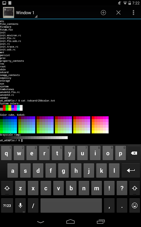Screenshot Terminal Emulator for Android APK