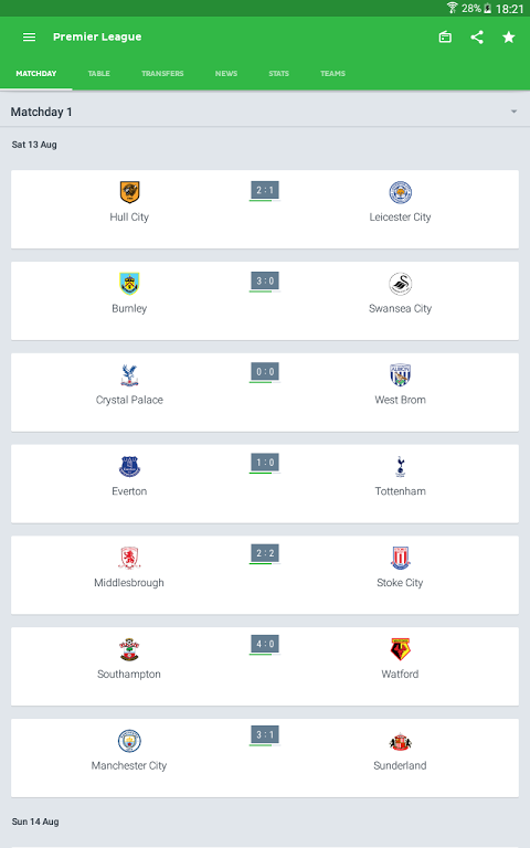 Onefootball - Football scores The App Store