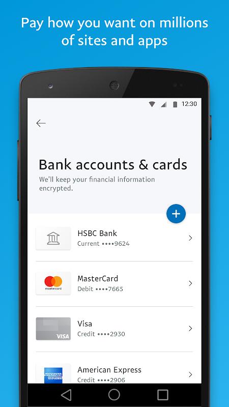 Screenshot PayPal APK