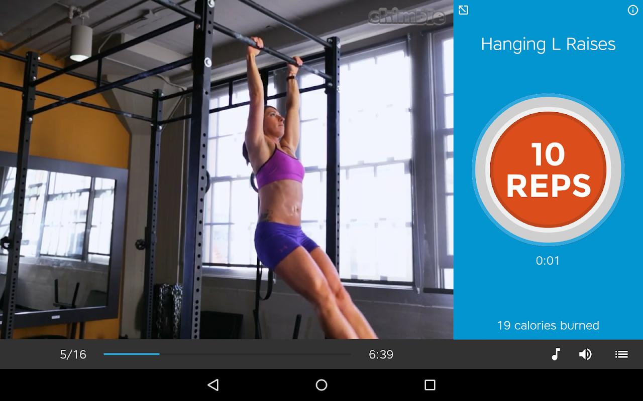 Screenshot Workout Trainer: fitness coach APK