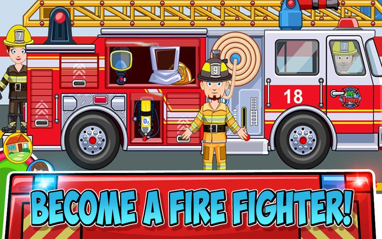 Screenshot My Town : Fire station Rescue APK