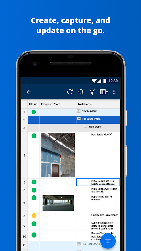 Smartsheet The App Store android Code Lads