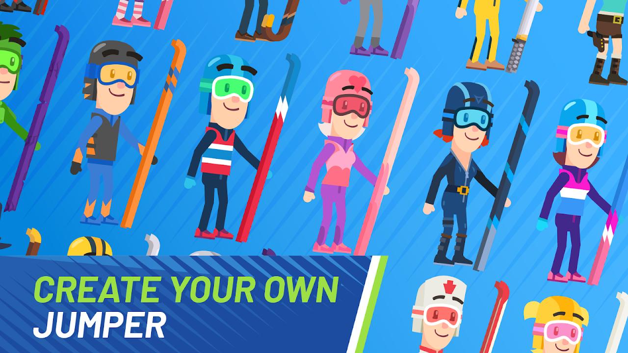 Screenshot Ski Jump Challenge APK