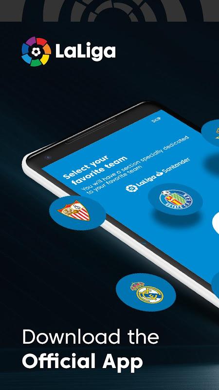 La Liga - Spanish Football League Official The App Store