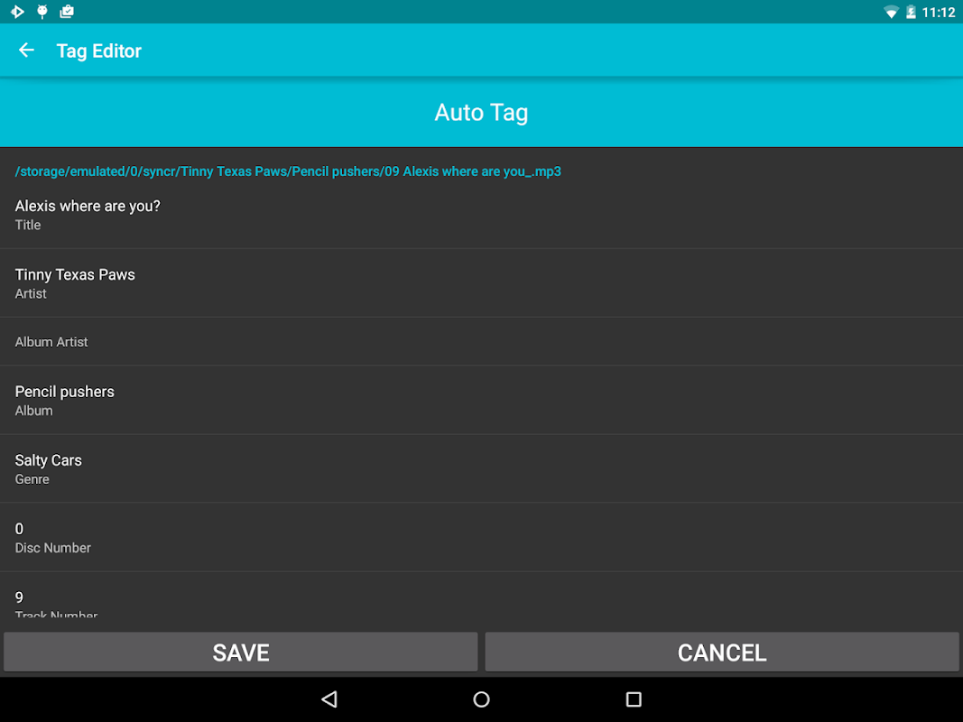 Screenshot Rocket Player : Music Player APK