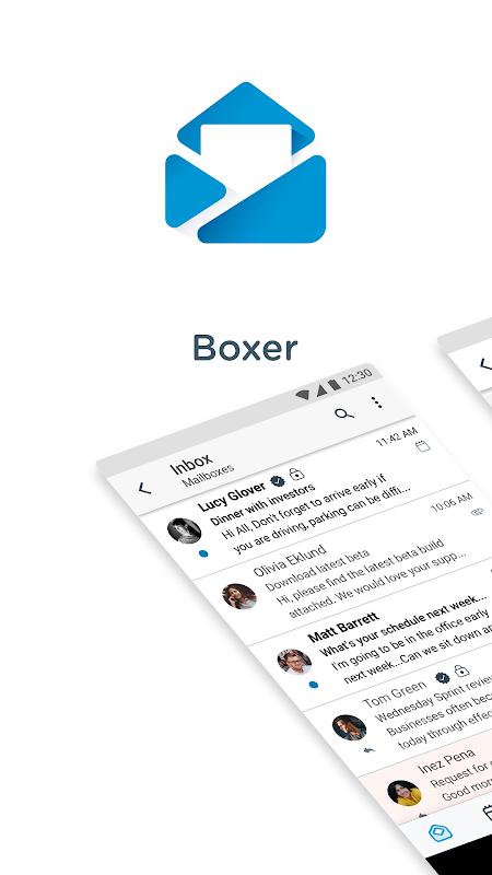 Screenshot Boxer - Workspace ONE APK