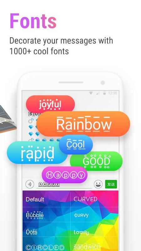 Cute Emoji, Sticker, Emoticon: RainbowKey Keyboard The App Store android Code Lads