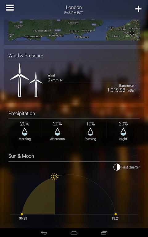 Screenshot Yahoo Weather APK