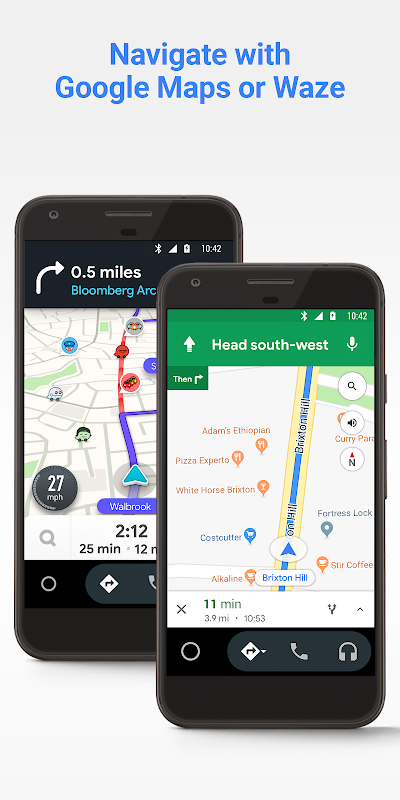 Screenshot Android Auto - Maps, Media, Messaging & Voice APK