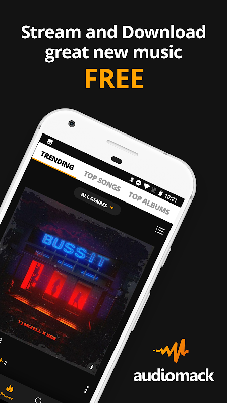 Screenshot Audiomack | Download New Music APK