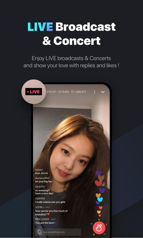 V LIVE The App Store android Code Lads