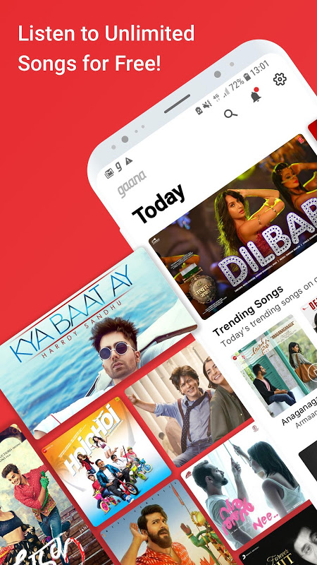 Gaana Music- Hindi English Telugu MP3 Songs Online The App Store