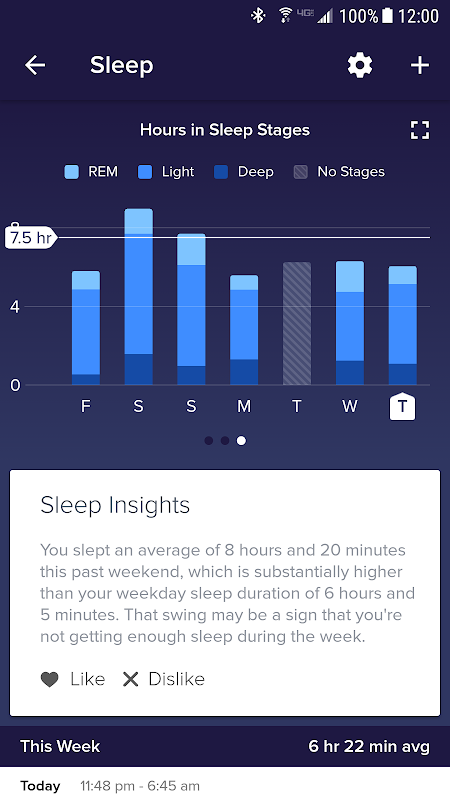 Screenshot Fitbit APK