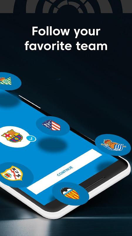 La Liga - Spanish Football League Official The App Store android Code Lads