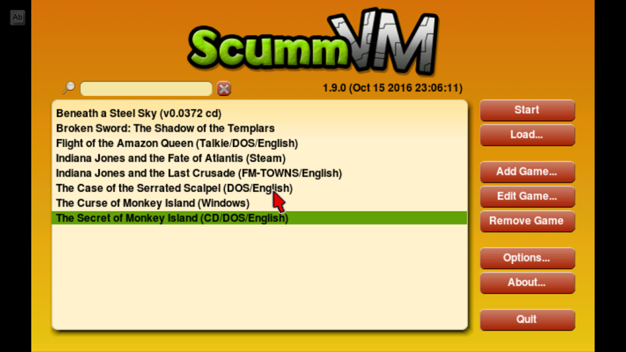 Screenshot ScummVM APK