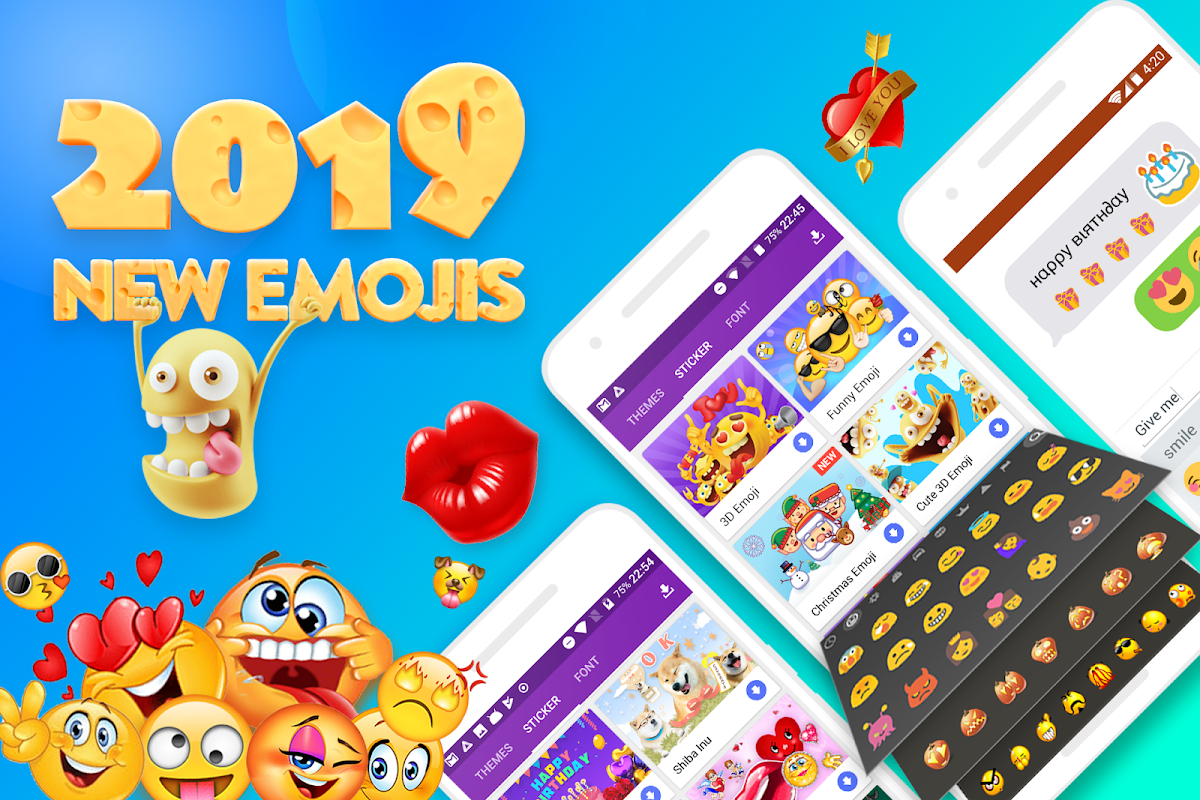 FunType Emoji Keyboard 2018 - Cute Emoticons The App Store android Code Lads