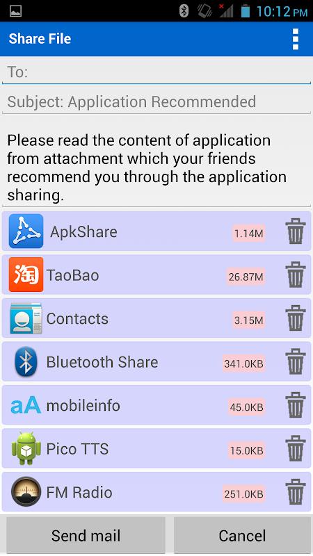 Screenshot ApkShare APK