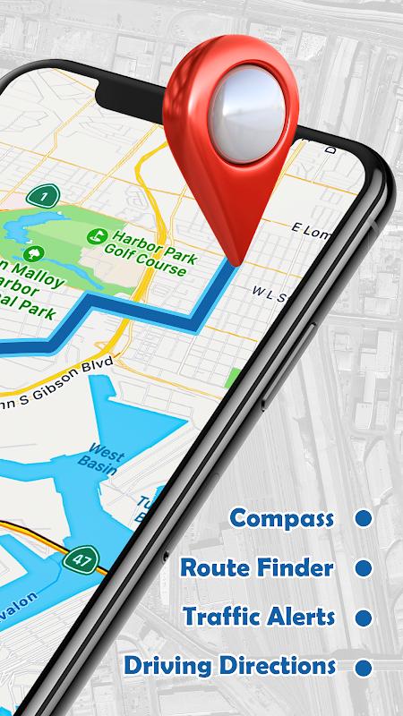 Screenshot GPS , Maps, Navigations & Directions APK
