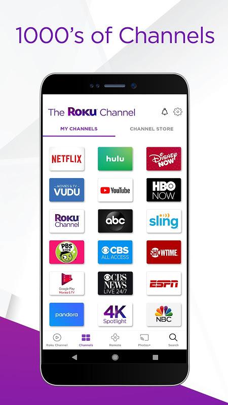 Screenshot Roku APK