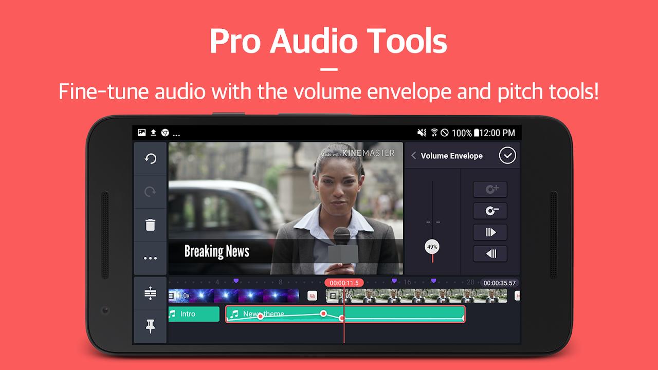 Screenshot KineMaster – Pro Video Editor APK