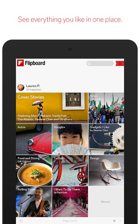 Screenshot Flipboard: News For Any Topic APK