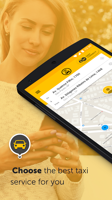 Screenshot Easy - taxi, car, ridesharing APK