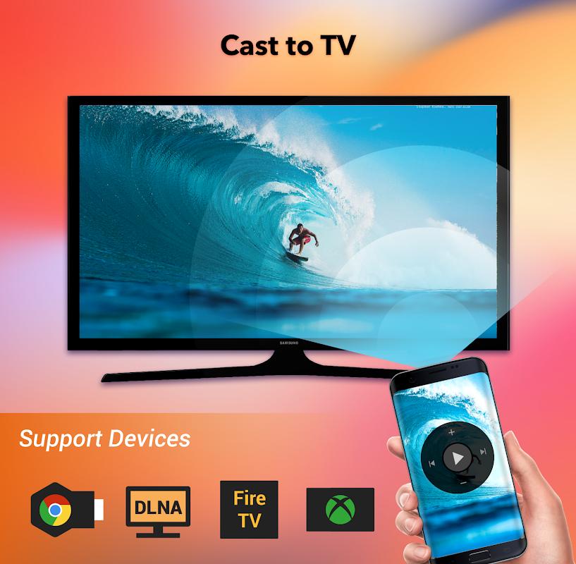 Screenshot Cast to TV - Chromecast, Roku, cast videos to tv APK