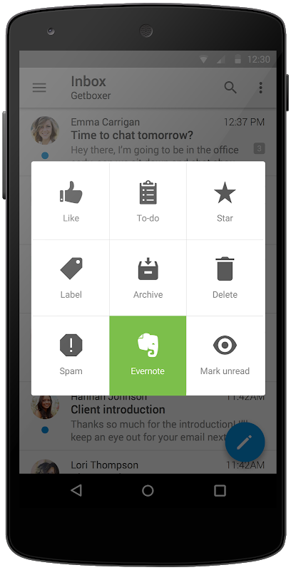 Screenshot VMware Boxer APK
