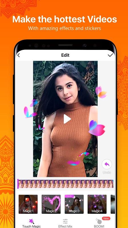Screenshot LIKE - Video Community & Magic Music Video Maker APK