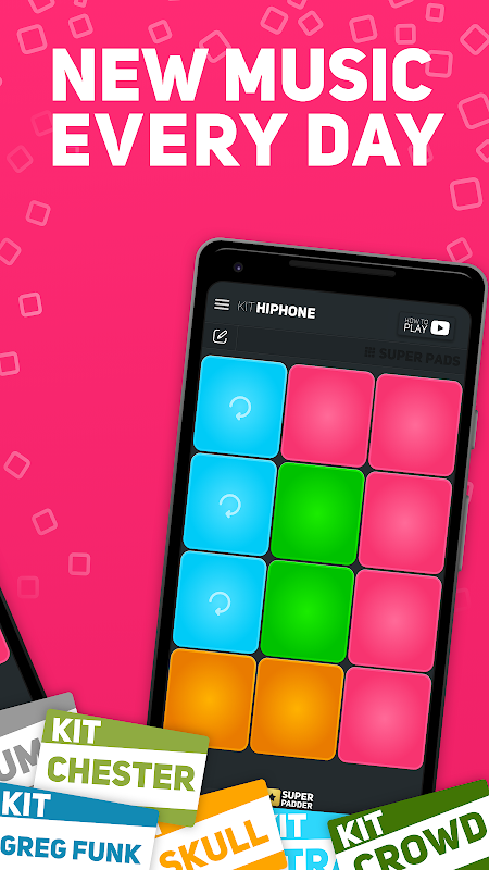 SUPER PADS - Become a DJ The App Store android Code Lads