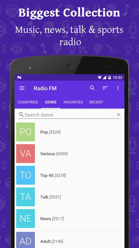 Radio FM Online The App Store android Code Lads