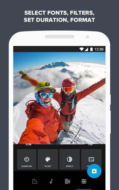 Screenshot Quik – Free Video Editor for photos, clips, music APK